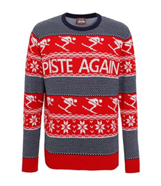 Piste Again Novelty Jumper