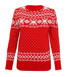 Vintage Christmas Knitted Jumper