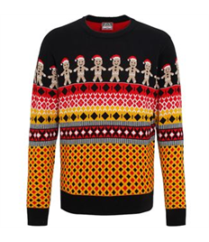 Festive Gingerbread Man Jumper