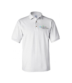 White Polo Shirt - Designer Websites Liimited